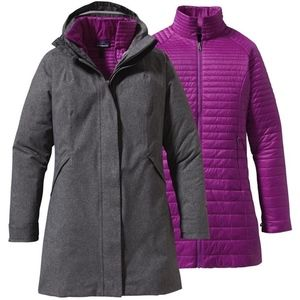 Patagonia Woman's 3in1 Tres Parka Jacket